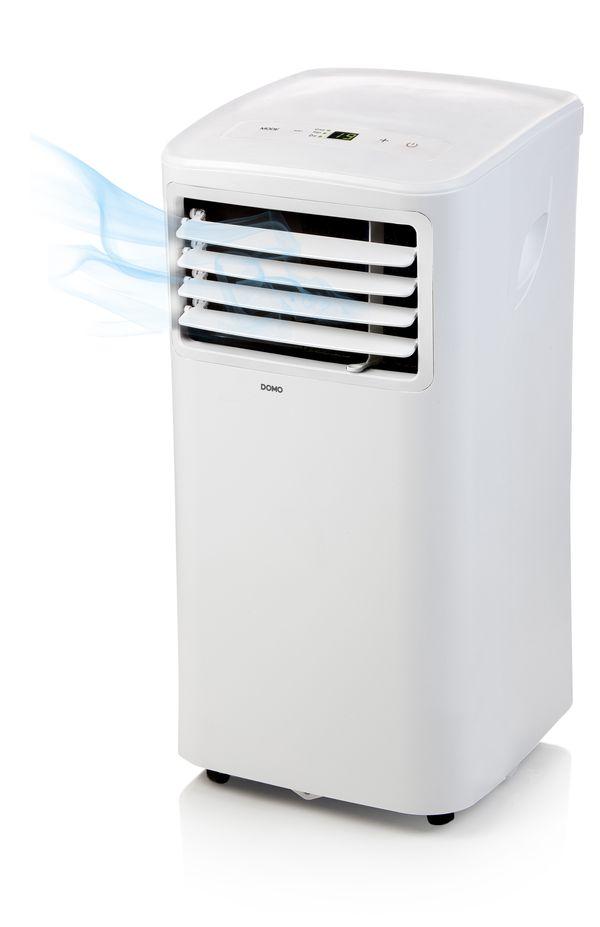 Mobilní klimatizace 7000 BTU - DOMO DO266A, 63 dB