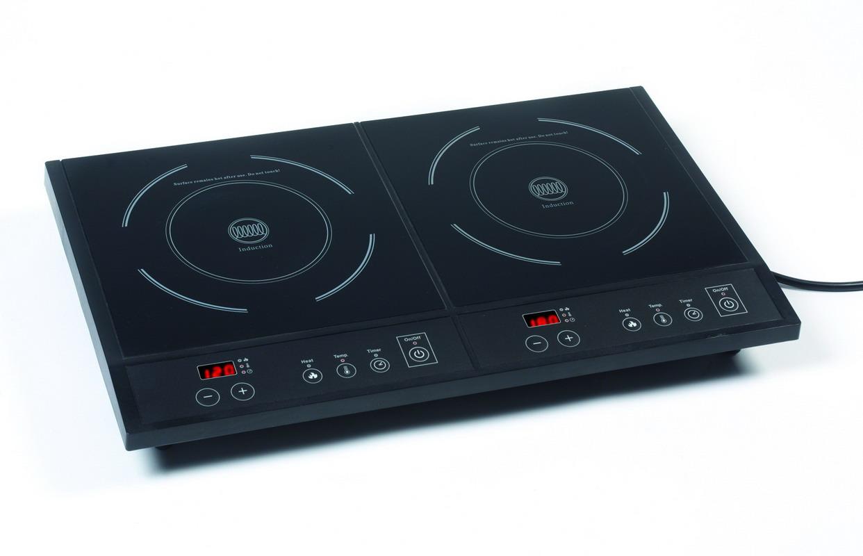 Indukční vařič dvouplotýnkový - DOMO DO 315 IP + doprava zdarma