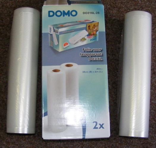 Folie do vakuové svářečky DOMO DO316L-20, 20 cm x 6 m, 2 ks