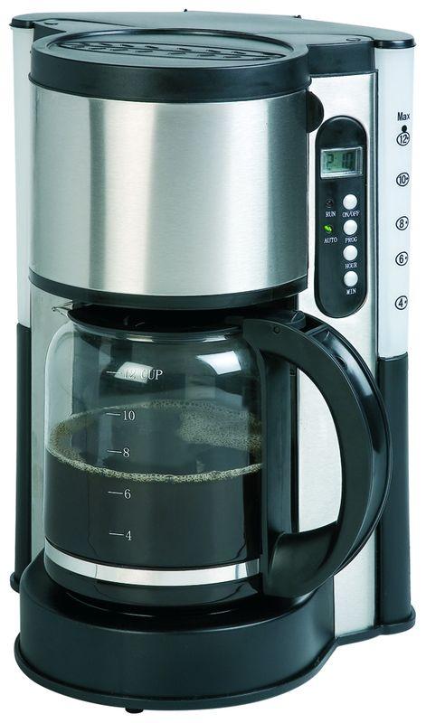 Kávovar - překapávač - DOMO DO 417 KT, 1,5l, s časovačem + doprava zdarma