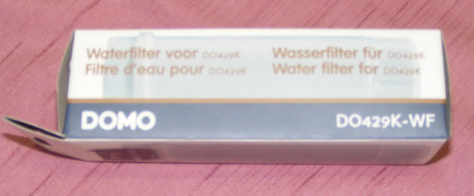 Vodní filtr espressa DOMO DO429K-WF