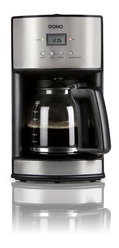 Kávovar s časovačem - DOMO DO473KT , 1,8l, s časovačem + doprava zdarma