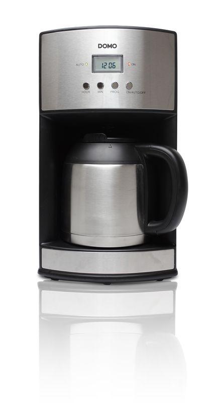 Kávovar s časovačem a termokonvicí - DOMO DO474KT , 1,2l + doprava zdarma