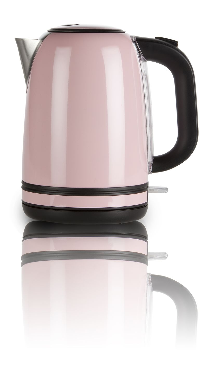 Rychlovarná konvice - růžový nerez - DOMO DO487WK, 1,7l + doprava zdarma