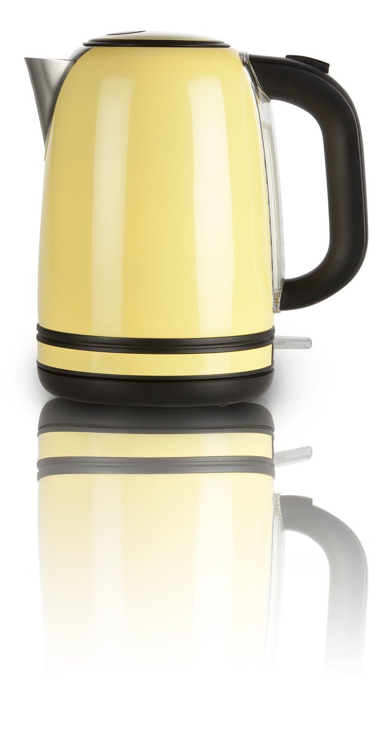 Rychlovarná konvice - žlutý nerez - DOMO DO490WK, 1,7l + doprava zdarma