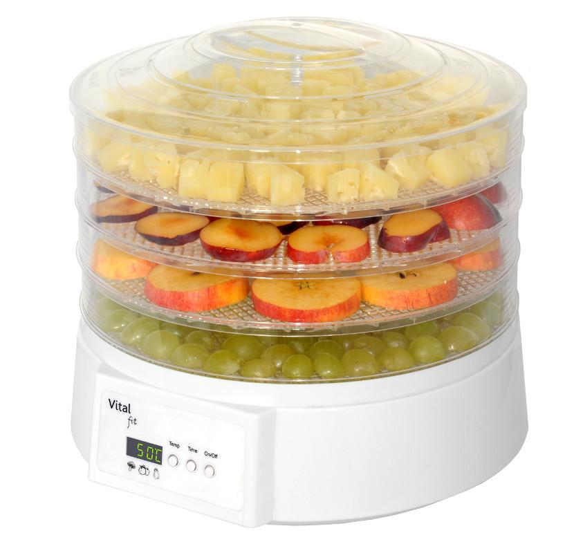 Sušička ovoce s časovačem - digitální - DO500S / DA 400, 4 patra + doprava zdarma
