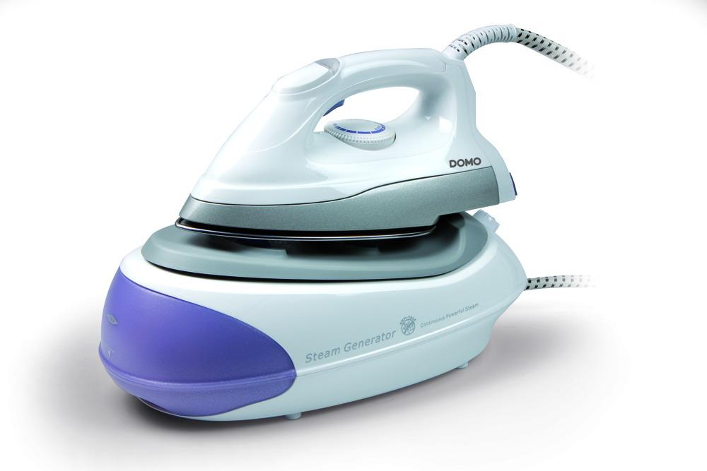 Žehlička s parním generátorem 3,5 bar - DOMO DO7074S, koš na prádlo zdarma + doprava zdarma