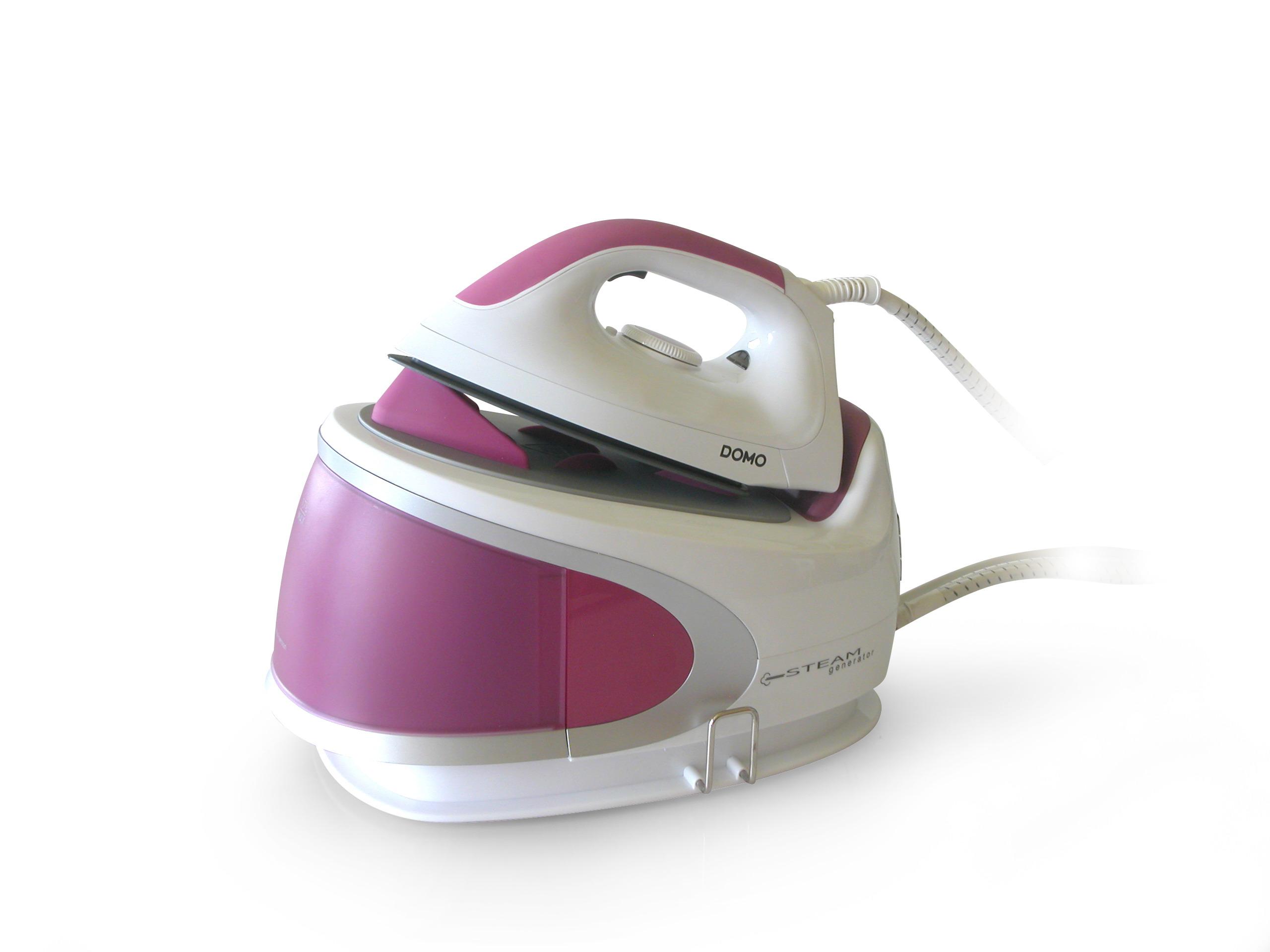 Žehlička s parním generátorem 4,5 bar - DOMO DO7082S, koš na prádlo zdarma + doprava zdarma