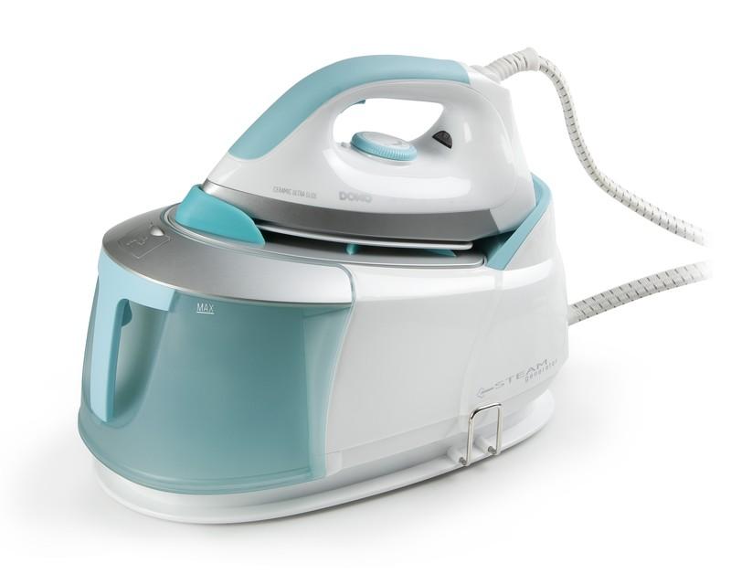 Žehlička s parním generátorem 5 bar - DOMO DO7083S, koš na prádlo zdarma + doprava zdarma