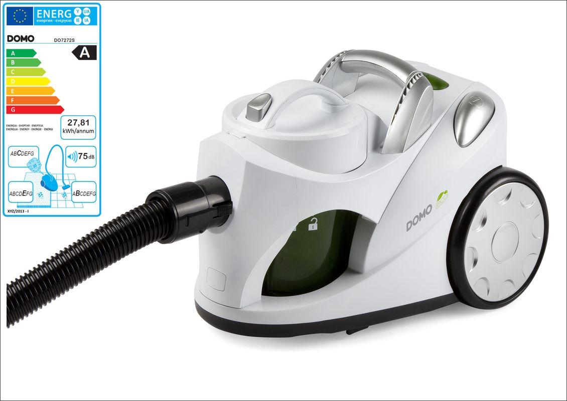 Bezsáčkový vysavač Eco - DOMO DO7272S, bílý, 700 W + doprava zdarma