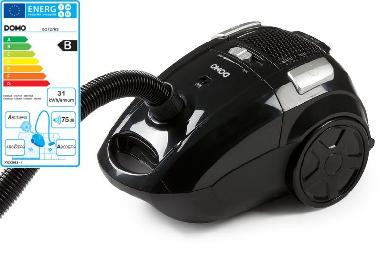 Sáčkový vysavač 2000W Eco - DOMO DO7276S, příkon: 900 W + doprava zdarma