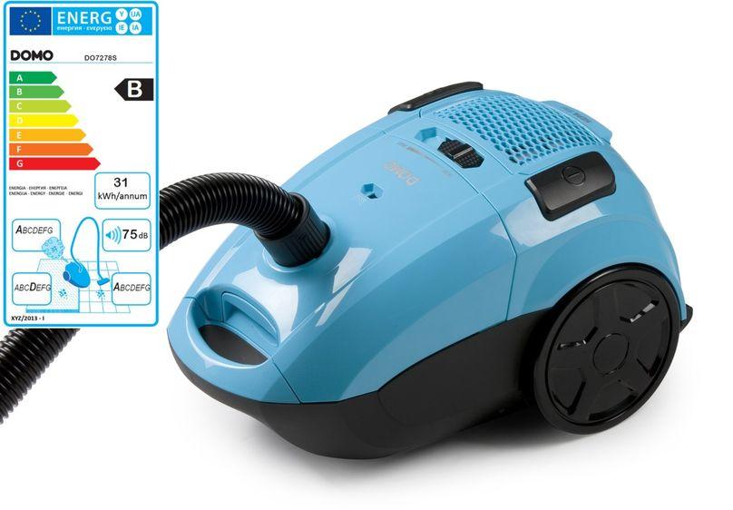Sáčkový vysavač 2000W Eco - DOMO DO7278S, příkon: 900 W + doprava zdarma