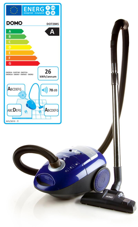 Sáčkový vysavač - modrý - DOMO DO7284S, příkon: 700 W + doprava zdarma