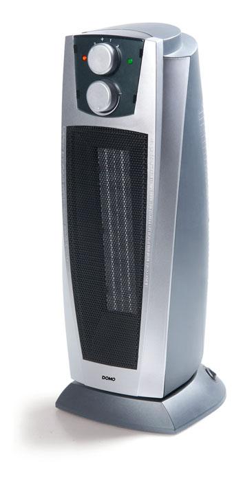 Teplovzdušný ventilátor - DOMO DO7334H, keramický, s oscilací + doprava zdarma