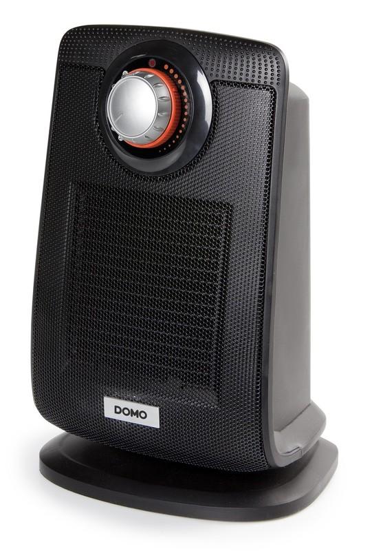 Keramické topení s ventilátorem, černé - DOMO DO7338H, IP21 + doprava zdarma