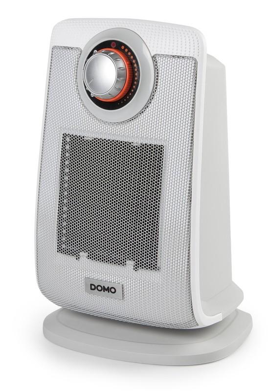 Keramické topení s ventilátorem, šedé - DOMO DO7338H, IP21 + doprava zdarma