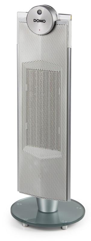 Keramické sloupové topení s ventilátorem, šedé - DO7339H + doprava zdarma