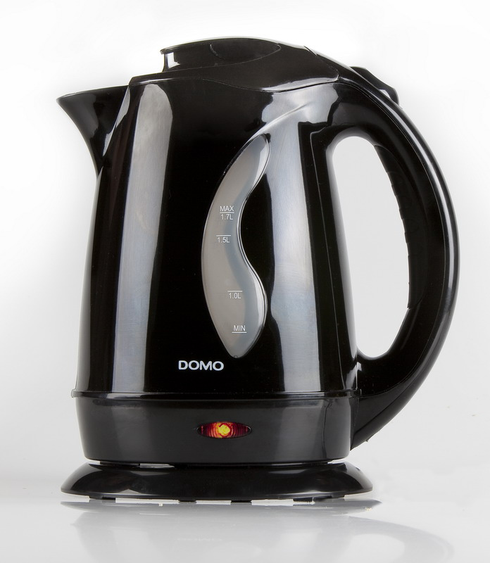 Rychlovarná konvice - DOMO DO 9019 WK, 1,7l černá, 2200 W