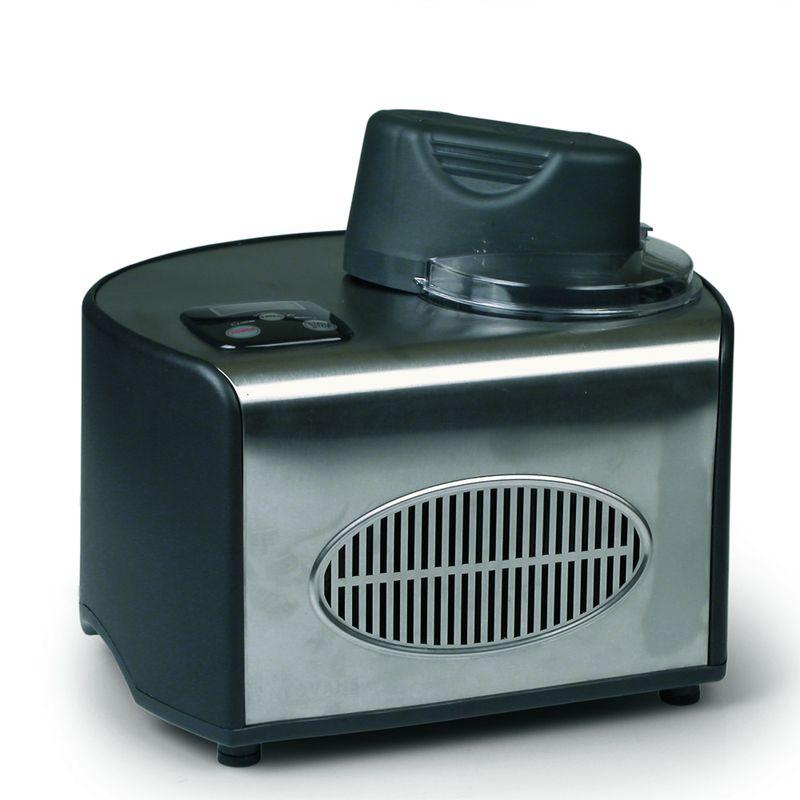 Výrobník zmrzliny - DOMO DO9030I + 2 ks skleniček na zmrzlinu ZDARMA, kompresorový + doprava zdarma