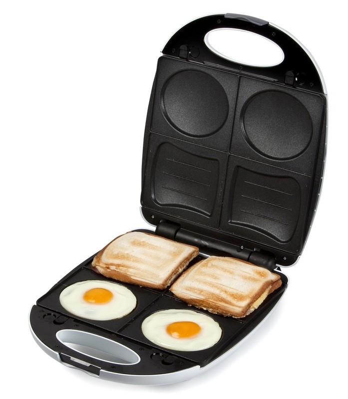 Sendvičovač Croque Madame - sendvič a vejce - DOMO DO9069C, vyjímatelné desky + doprava zdarma