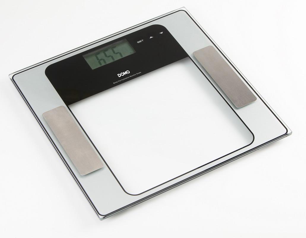Osobní váha s měřením tuku a těla - DOMO DO 9099 W + doprava zdarma