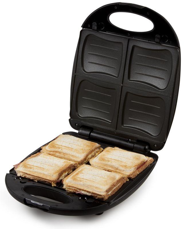 Rodinný sendvičovač - DOMO DO9123C, černá + doprava zdarma