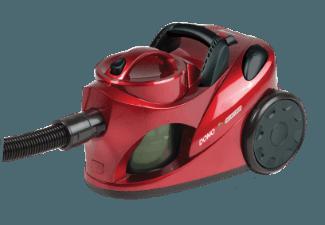Bezsáčkový vysavač 2000W Eco - DOMO DO7279S, červená metalíza, příkon: 1000 W + doprava zdarma