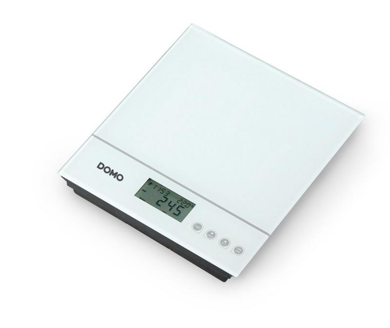 Kuchyňská váha skleněná - DOMO DO 9089 W