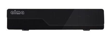 ALMA DVB-T2 HD přijímač 2770 černý + doprava zdarma