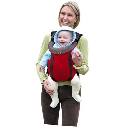Nosička dítěteTomy Freestyle Premier, červená + doprava zdarma