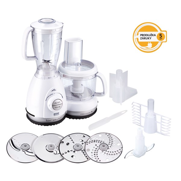 Kuchyňský robot ETA Bross 0027 90000 bílý + prodloužená záruka 5 let na motor + doprava zdarma