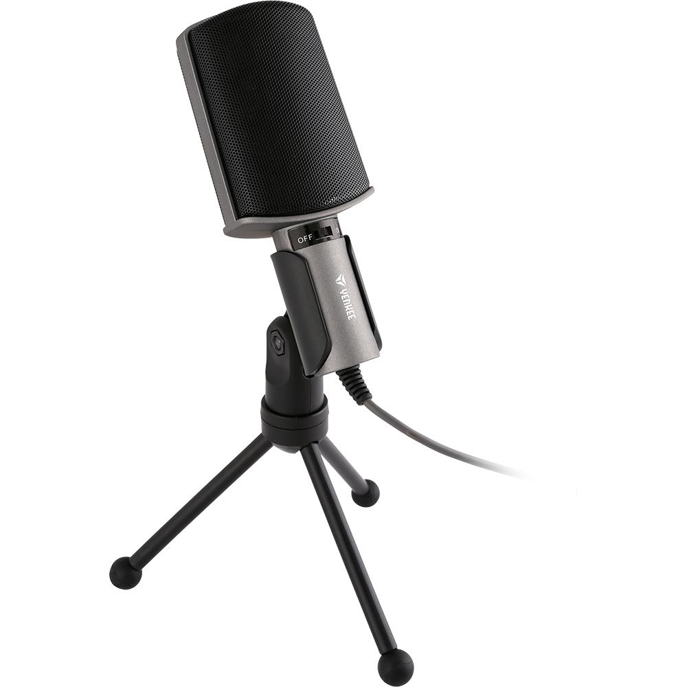 YENKEE YMC 1020GY Stolní mikrofon k PC + doprava zdarma