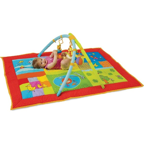 Hrací deka s hrazdou Taf toys Chytráček II