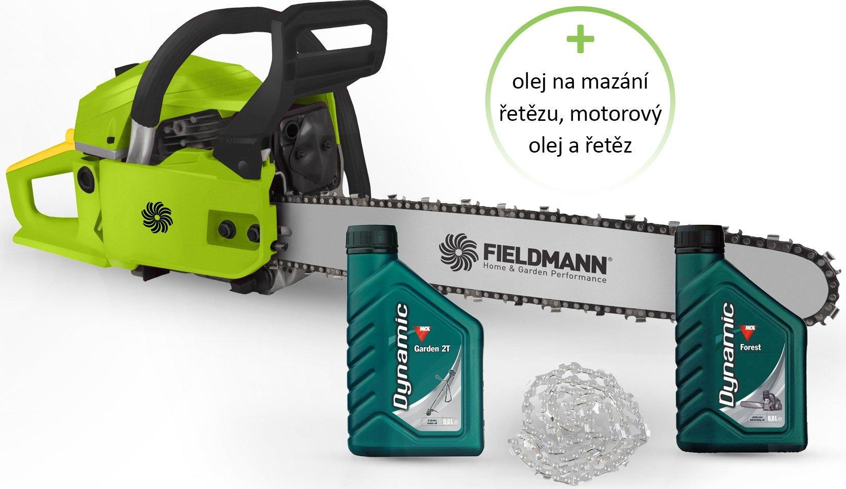 SADA FZP 4516-B+oleje+řetěz FIELDMANN + doprava zdarma