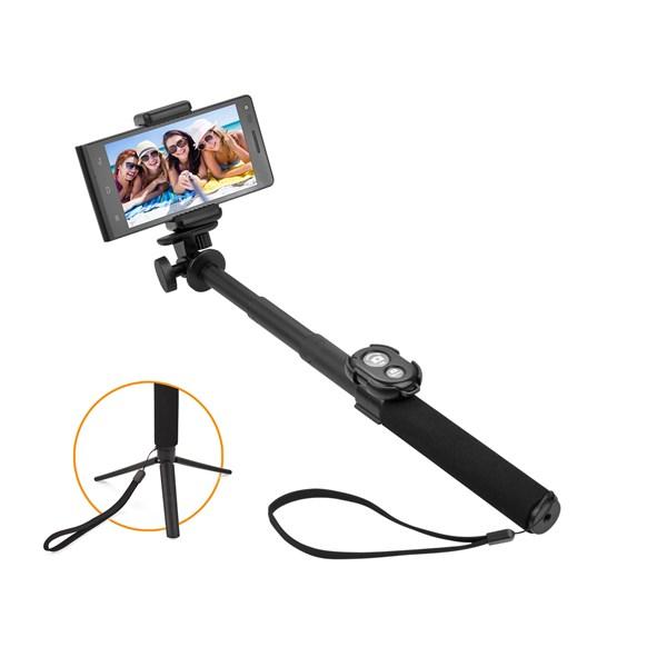 Selfie tyč GoGEN 5 teleskopická, bluetooth, černá + doprava zdarma