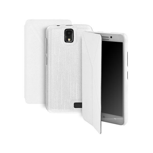 Pouzdro na mobil GoGEN pro Lenovo A328 - bílá barva
