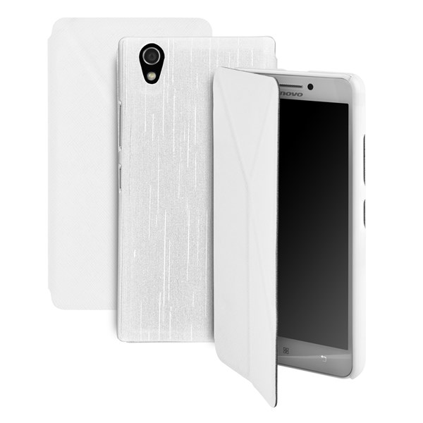 Pouzdro na mobil GoGEN pro Lenovo P70 - bílá barva + doprava zdarma