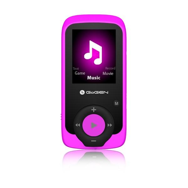 MP3/MP4 přehrávač GoGEN MAXI MP3, 4GB růžový + doprava zdarma