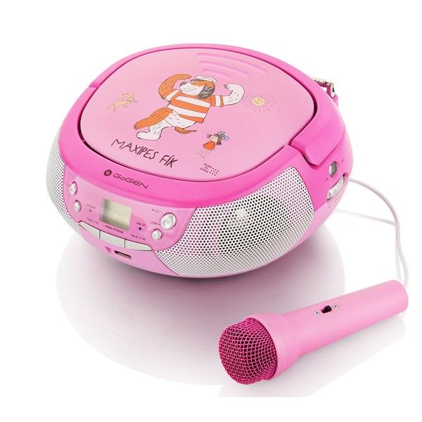 Radiopřijímač GoGEN MAXIPREHRAVAC P s CD/MP3/USB, růžová/purpurová + doprava zdarma