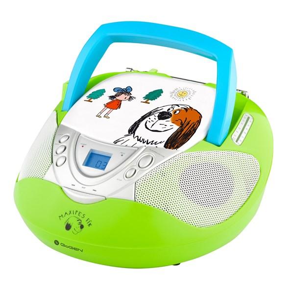Radiopřijímač s CD GoGEN MAXI RADIO GN, CD/MP3/USB, zelený + doprava zdarma