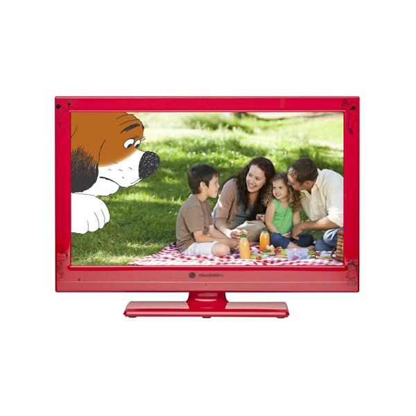 Televize GoGEN MAXI TELKA 24 R, LED, červená + doprava zdarma