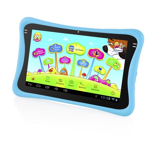 "Dotykový tablet GoGEN MAXPAD9 G2B 9"", 8 GB, WF, Android 4.4 - modrý - Opraveno servisním technikem + doprava zdarma"