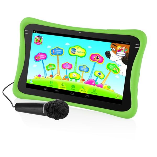 "Dotykový tablet GoGEN MAXPAD9 G3G 9"", 8 GB, WF, Android 4.4 - zelený + doprava zdarma"