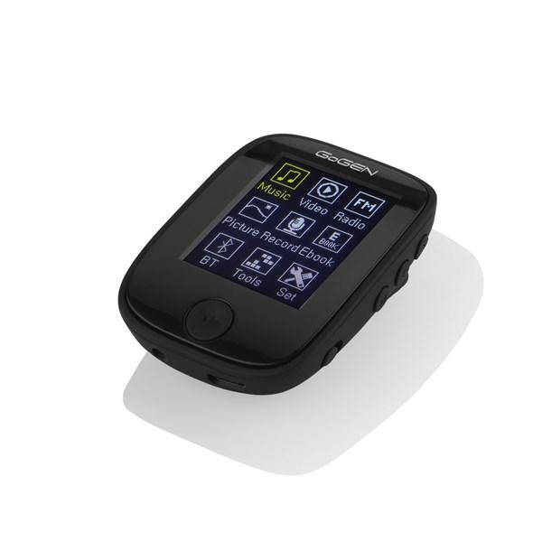 "MP3/MP4 přehrávač GoGEN MXM 421 GB4 BT B, s 1,7"" displejem a bluetooth, černý + doprava zdarma"
