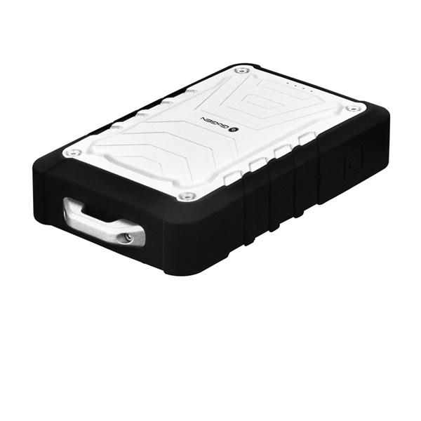 Power bank GoGEN 7800 mAh, outdoor, voděodolná IPX65, stříbrno-černá barva + doprava zdarma