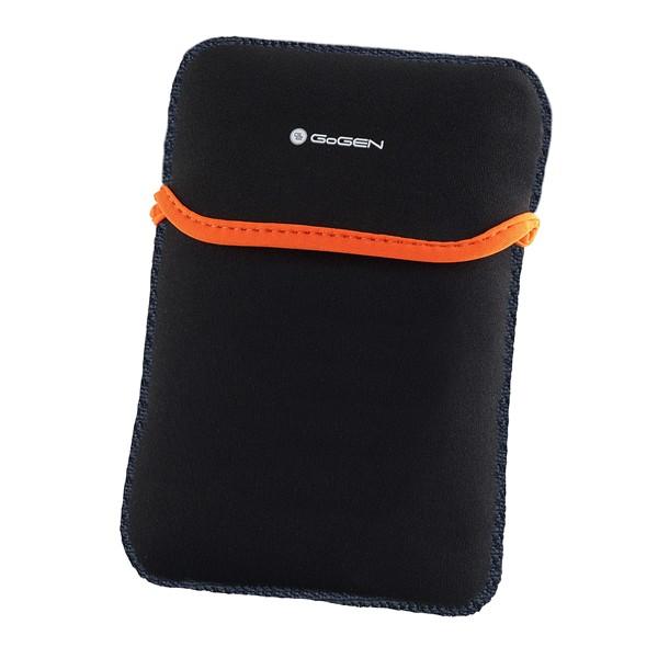 """Pouzdro na tablet GoGEN neoprenové pro 7,85"""" - černé/oranžové"""