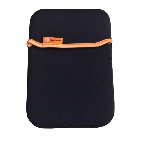 """Pouzdro na tablet GoGEN neoprenové pro 7"""" - černé/oranžové"""