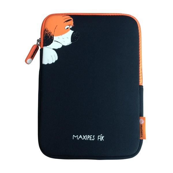 """Pouzdro na tablet GoGEN neoprenové pro 8"""" - dětské - černé/oranžové"""