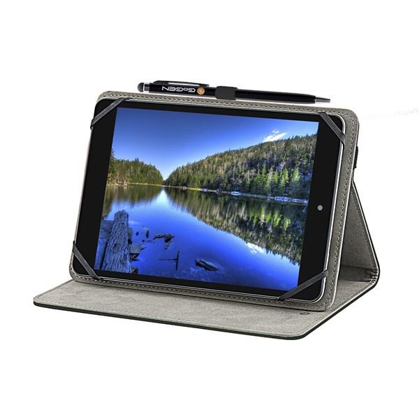 """Pouzdro na tablet GoGEN polohovací pro 7,85"""" + stylus - černé"""
