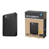 WD Elements Portable 750GB Black + doprava zdarma